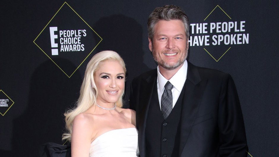 Blake Shelton 'Proud' to Be With Gwen Stefani at PCAs: They Were 'Whispering to Each Other' and 'Cracking Up'