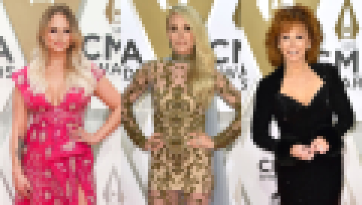 CMAs 2019 Red Carpet, Miranda Lambert, Carrie Underwood, Reba McEntire