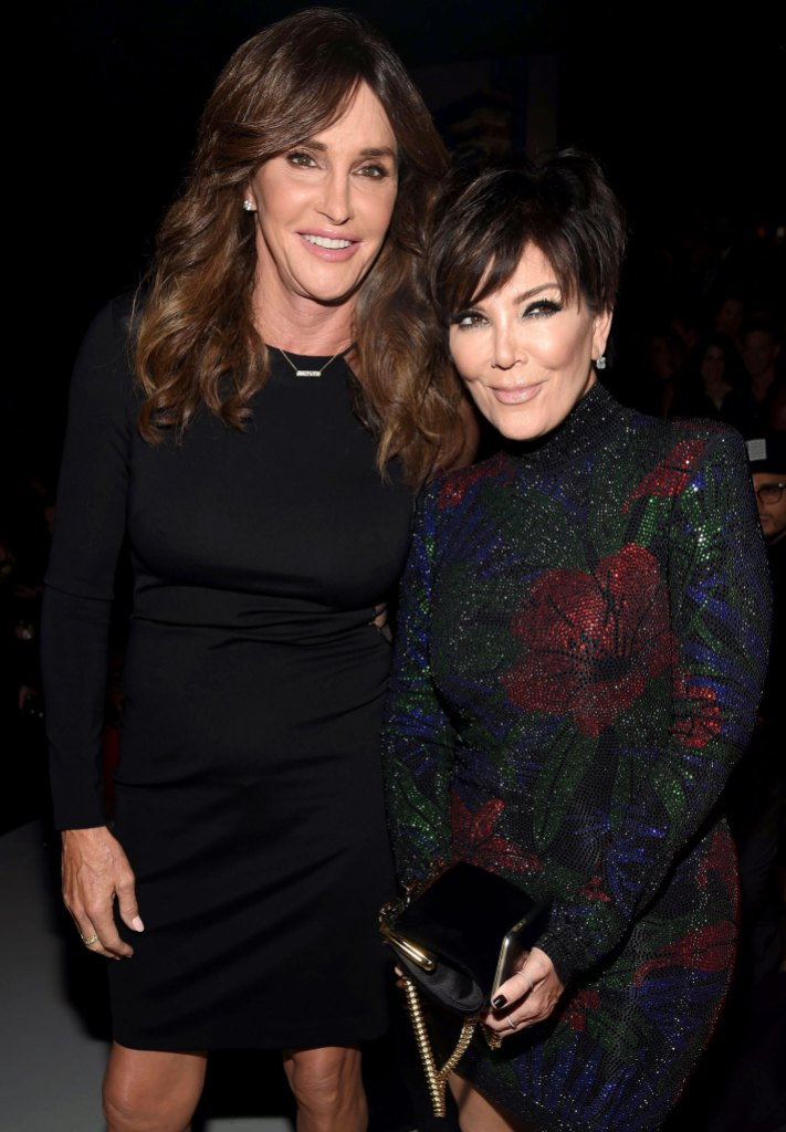 Caitlyn Jenner and Kris Jenner Victoria's Secret Fashion Show