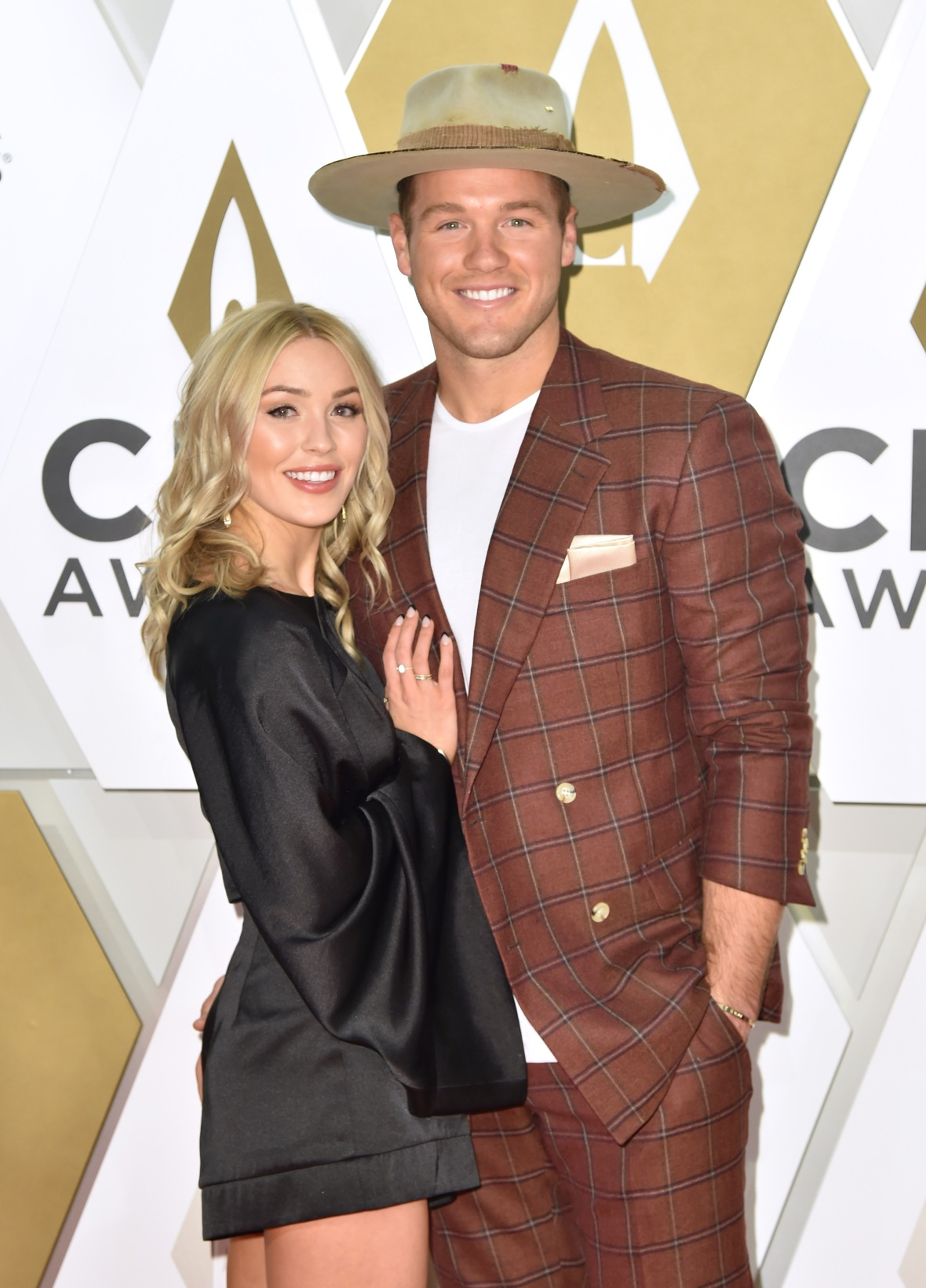 Colton Underwood and Cassie Randolph from Bachelor