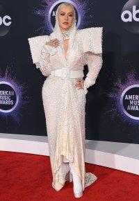 Christina Aguilera AMAs 2019
