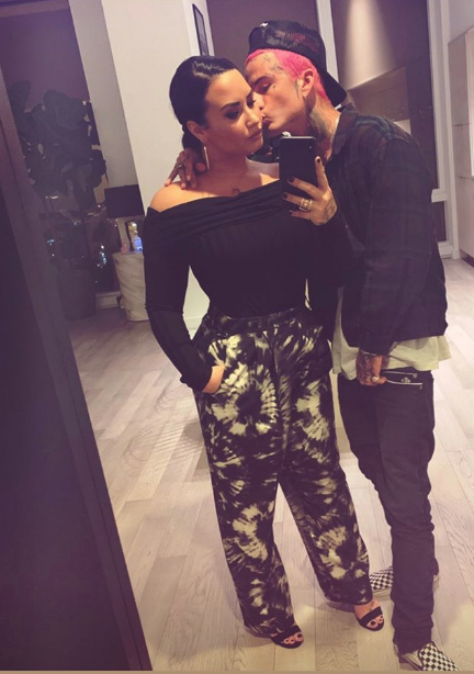 Demi Lovato and BF Austin Wilson