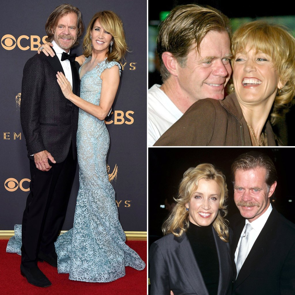 Felicity Huffman and William H Macy Relationship Timeline