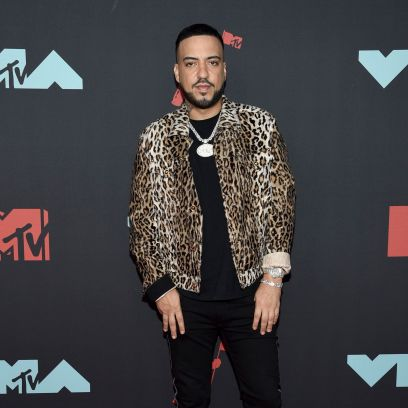 French Montana Wearing a Leopard Outfit