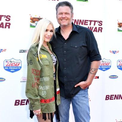 Gwen Stefani Blake Shelton Thanksgiving Traditions