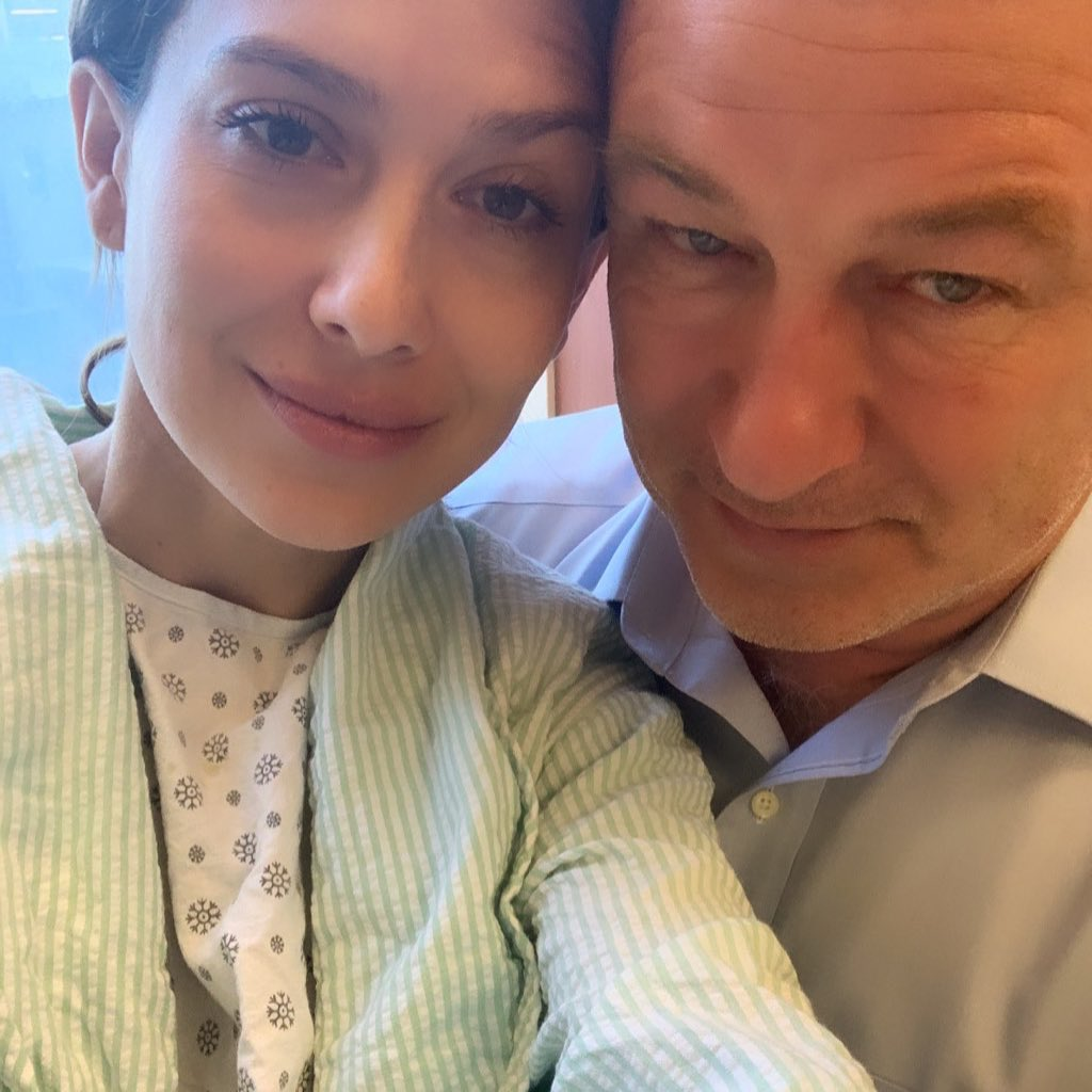 Hilaria Baldwin Takes a Selfie With Alec Baldwin
