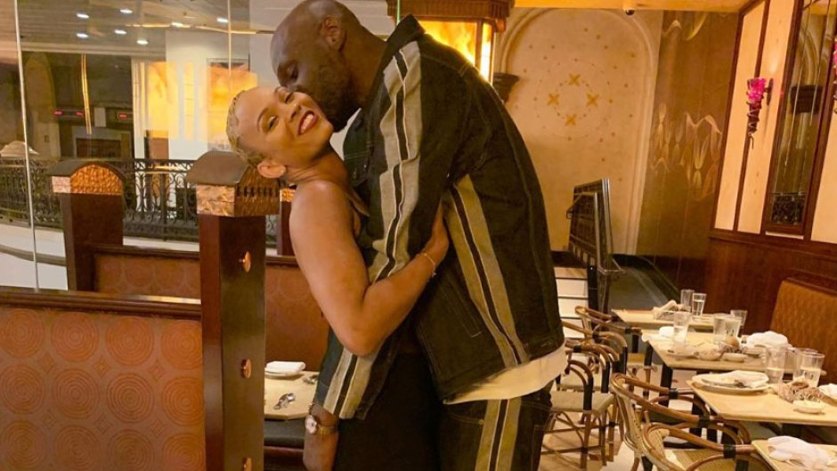 It's Official! Lamar Odom Announces That He's Engaged to Sabrina Parr