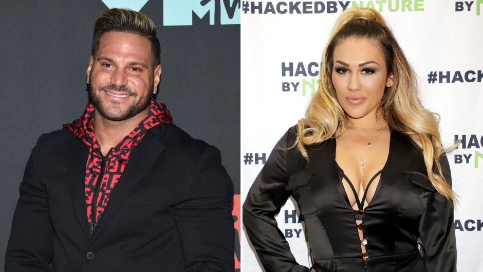 Side-by-Side Photos of Ronnie-Ortiz Magro and Jen Harley