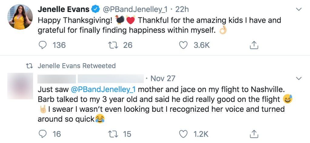 Jenelle Evans Reveals She Found Happiness Within Herself Over Thanksgiving
