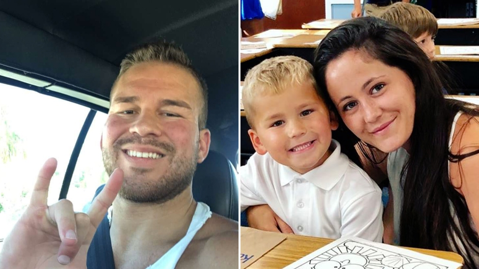 Side-by-Side Photos of Nathan Griffith and Jenelle Evans With Kaiser