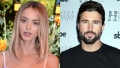 A split image of Kaitlynn Carter and Brody Jenner