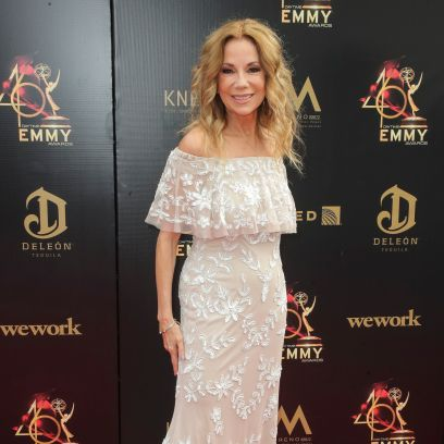 Kathie Lee Gifford Wearing a Dress on the Red Carpet