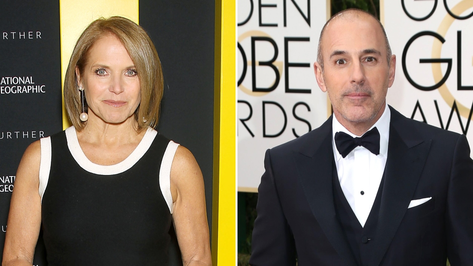 Katie Couric Claims Matt Lauer Was Actually Two Very Different People