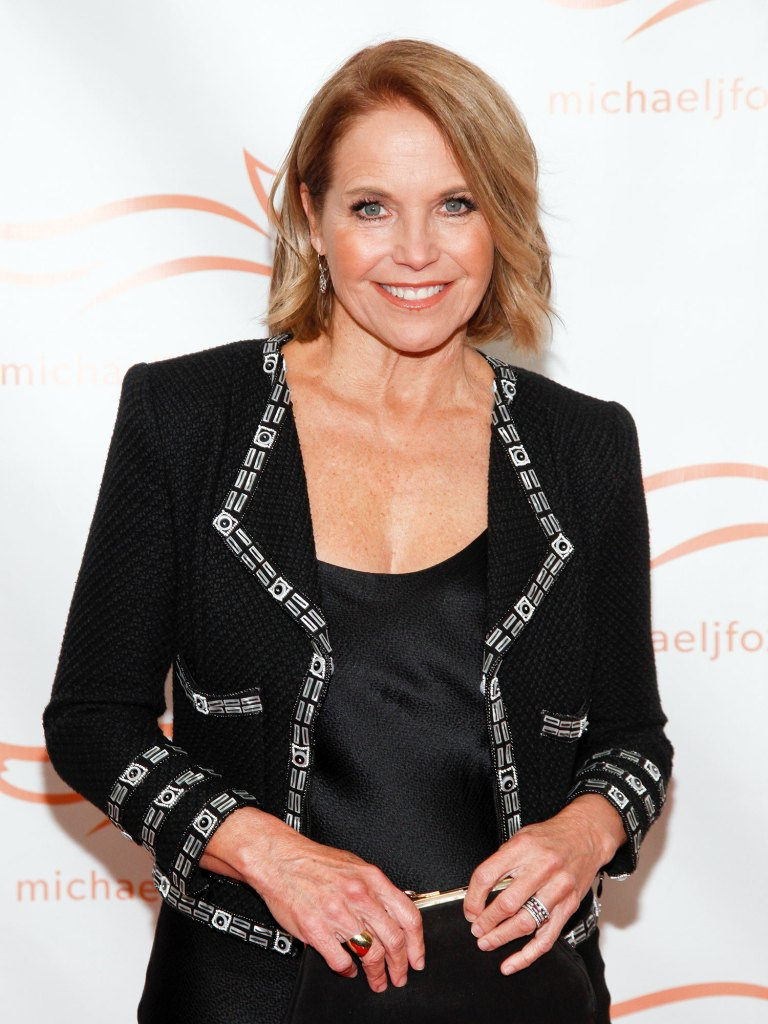 Katie Couric Michael J. Fox Foundation 2018 Benefit Gala