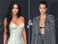 Kim Kardashian Interrupts Sister Kourtney During Red Carpet Interview