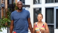Lamar Odom Fiance Relax Poolside After Family Drama