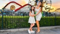 Farrah Abraham and Daughter Sophia Take Photos During Disneyland Day to Meet Santa