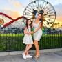 Farrah Abraham and Daughter Sophia Take Photos During Disneyland Day to Meet Santa