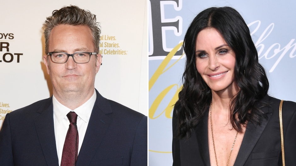 Matthew Perry in Love With Courteney Cox