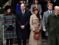 Meghan Markle and Prince William, Harry and Kate Dressed for Christmas