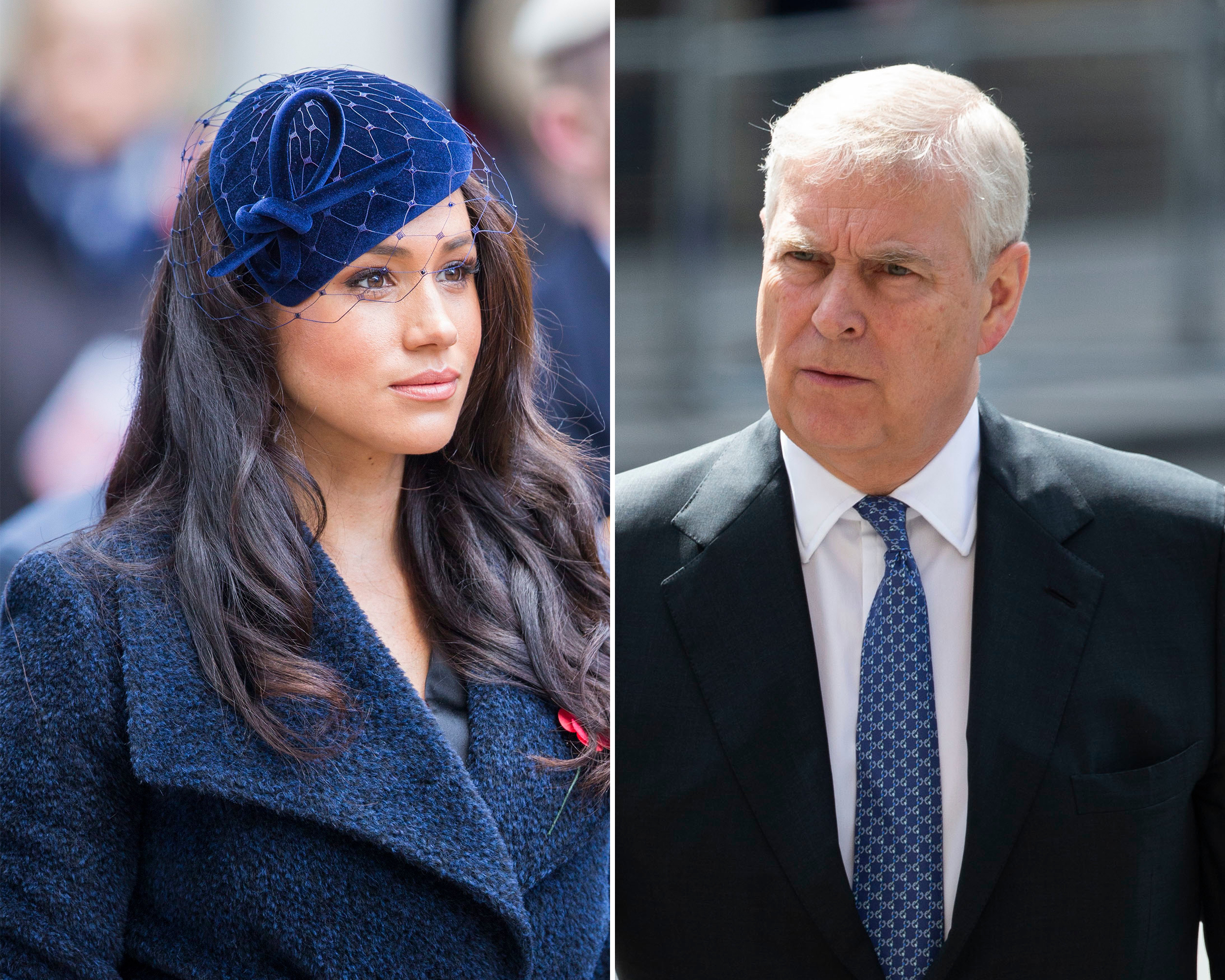 Duchess Meghan Is 'Disgusted' by Prince Andrew's Actions After Jeffery Epstein Interview