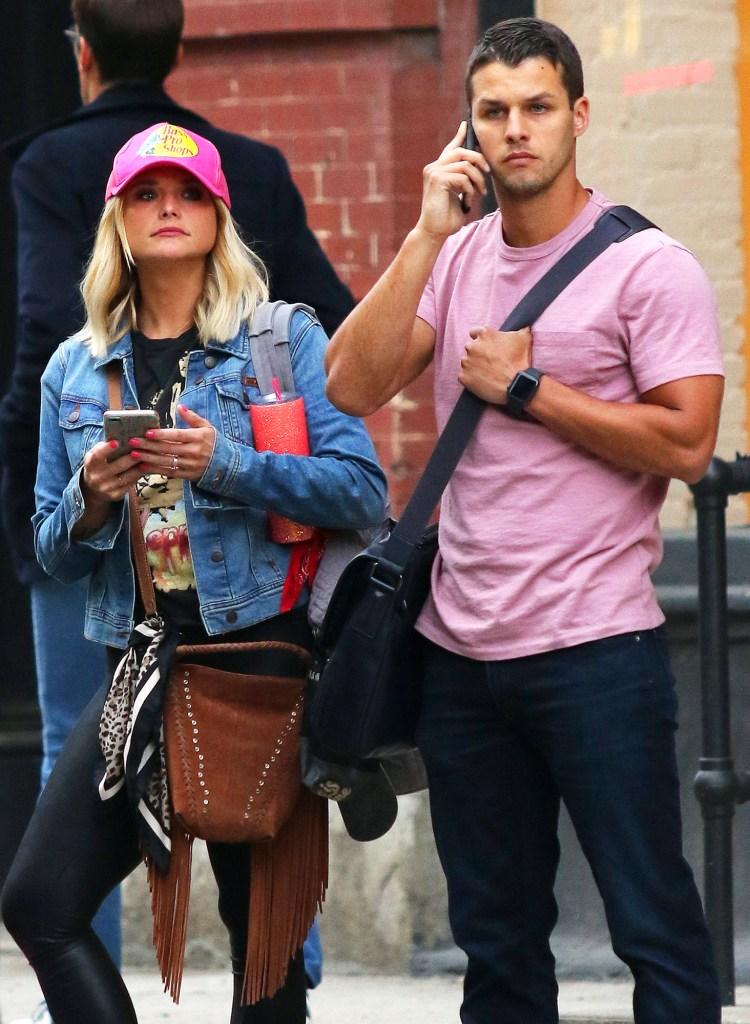 Miranda Lambert Scared Subway Husband Brendan Trying Help Her Chill Out