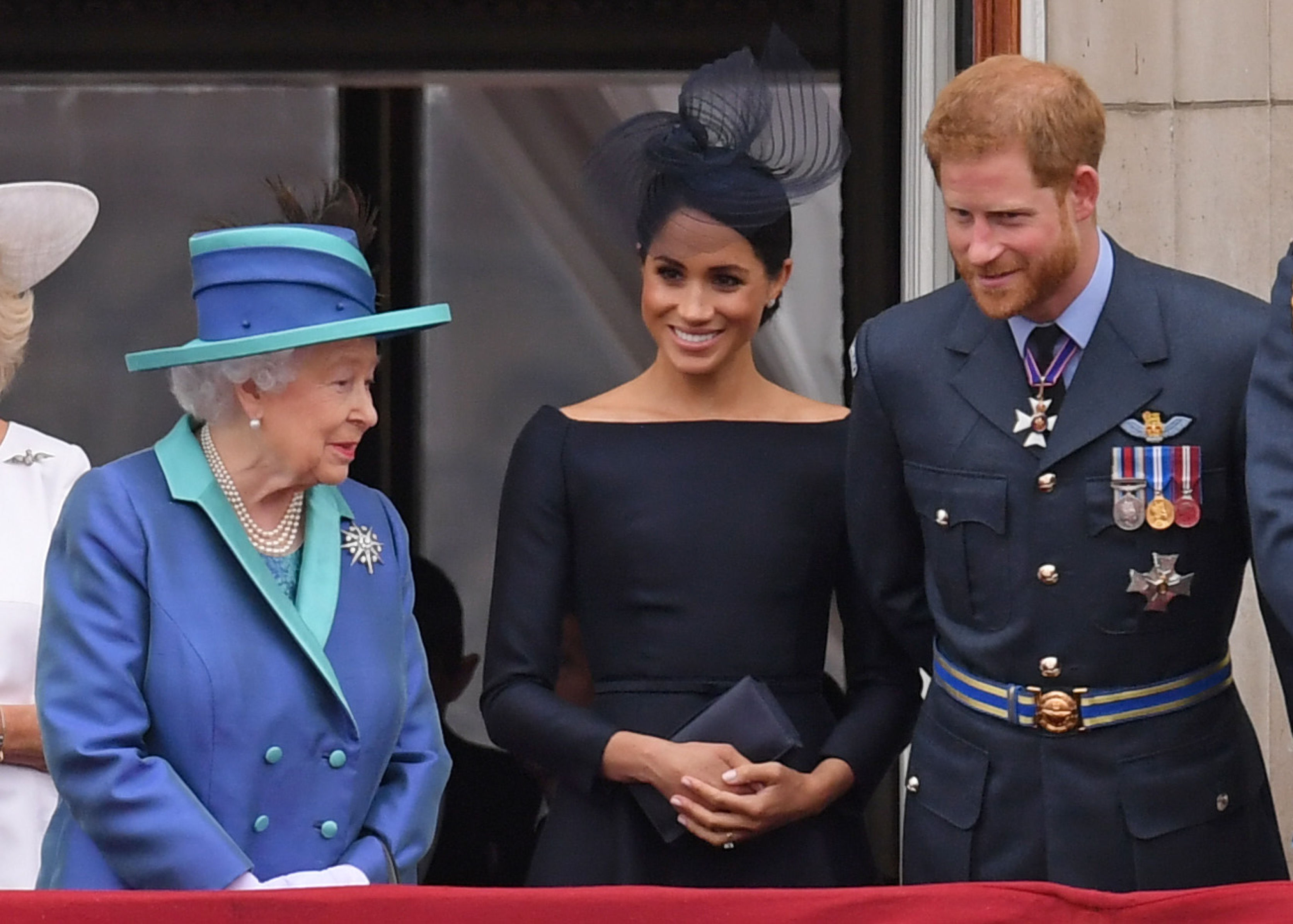 Queen Elizabeth Is 'Devastated' Prince Harry and Duchess Meghan Plan to Spend Christmas With Her Mom