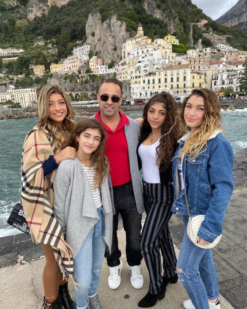 RHONJ Joe Giudice Gushes Over Beautiful Daughters Cute Video
