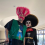 Rob Kardashian and Kris Jenner in Costiume for Halloween 2019