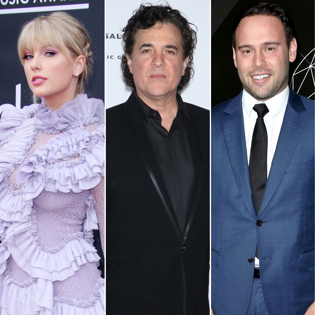 Taylor Swift, Scott Borchetta, and Scooter Braun