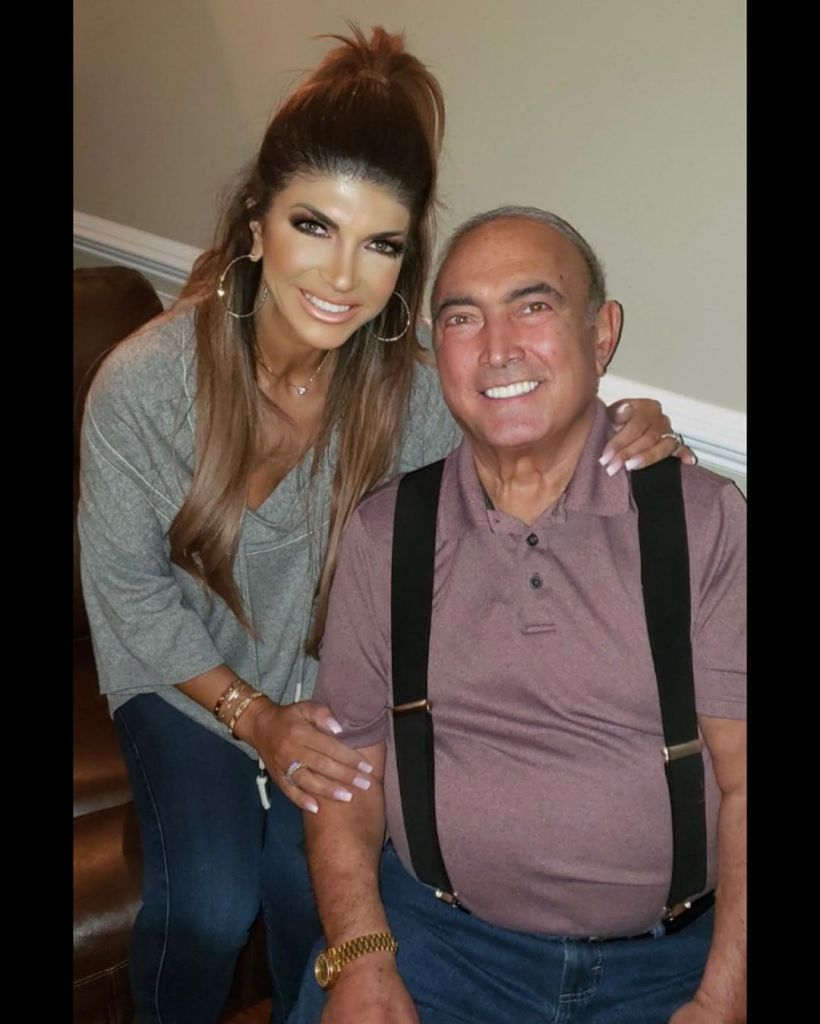 Teresa Giudice With Her Father