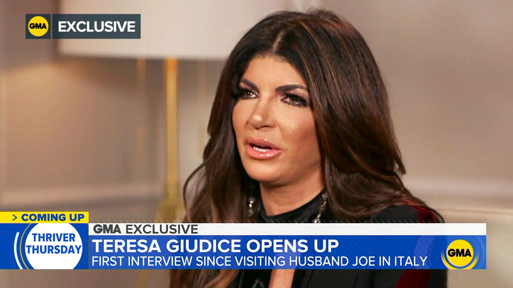 Teresa Giudice Claims She Would Be OK Seeing Her Husband Joe Happy With Another Woman