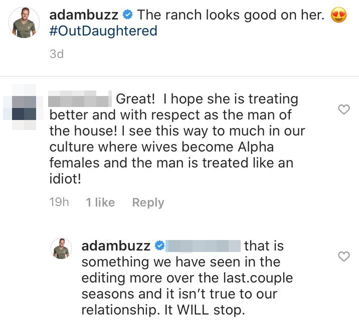 adam busbys comment about tlc making him look Like an idiot Adam Busby Slams TLC Editing