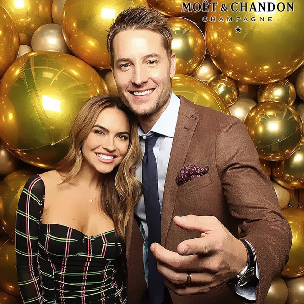 Chrishell and Justin Hartley One Week Before Divorce