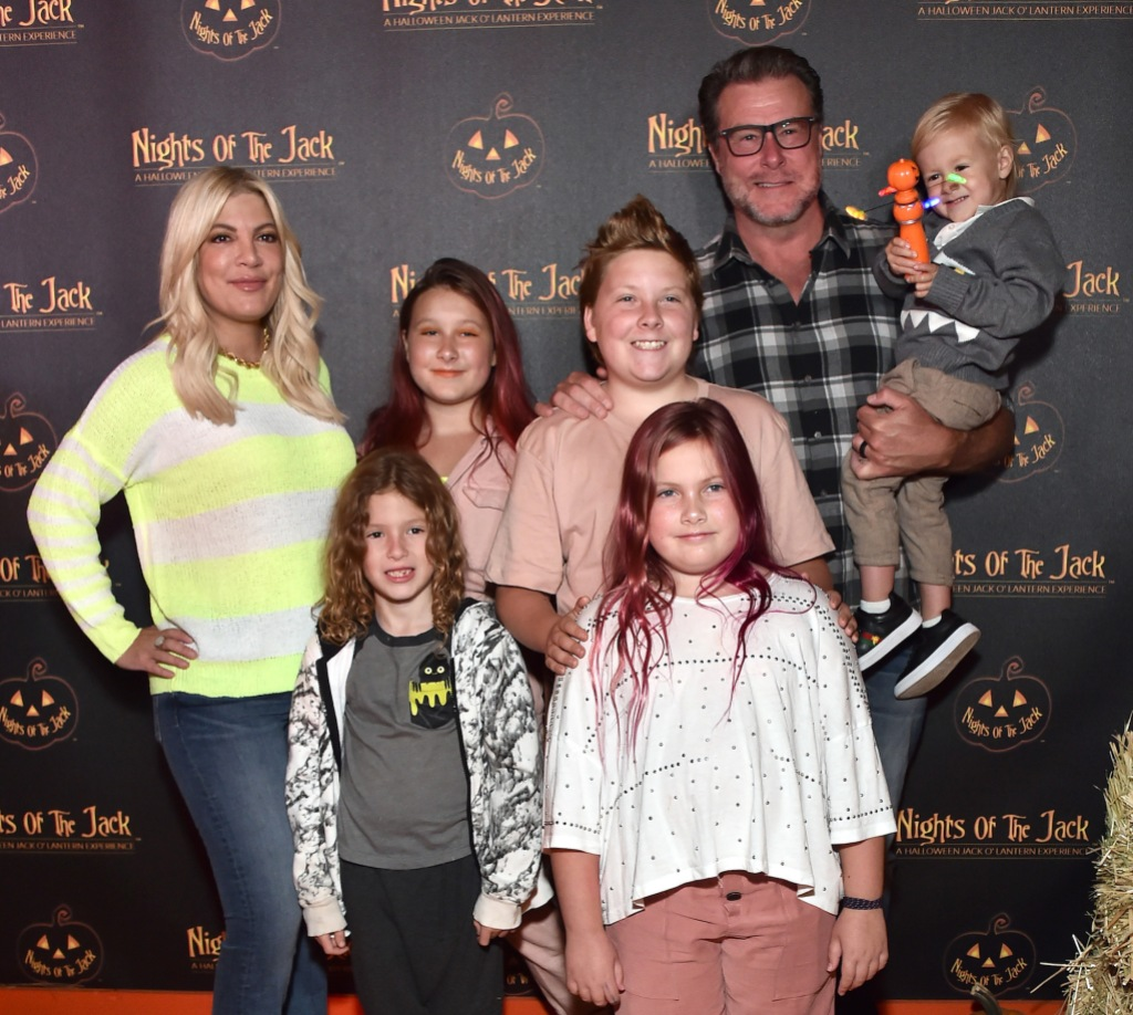 Dean McDermott Defends His Daughter Against Trolls After Dying Her Hair Purple: 'She's Expressing Herself'