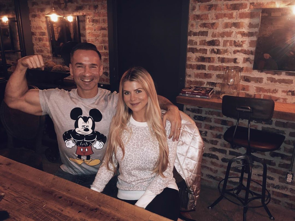 mike the situation sorrentino and wife lauren celebrate their one year wedding anniversary