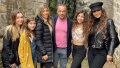 joe giudice, wife teresa, and daughters pose for family photos during vacation in italy