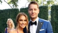 this is us star justin hartley and his estranged wife, chrishell, hosted a party after their split