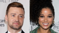 justin timberlake holds hands with costar alisha wainwright in new orleans