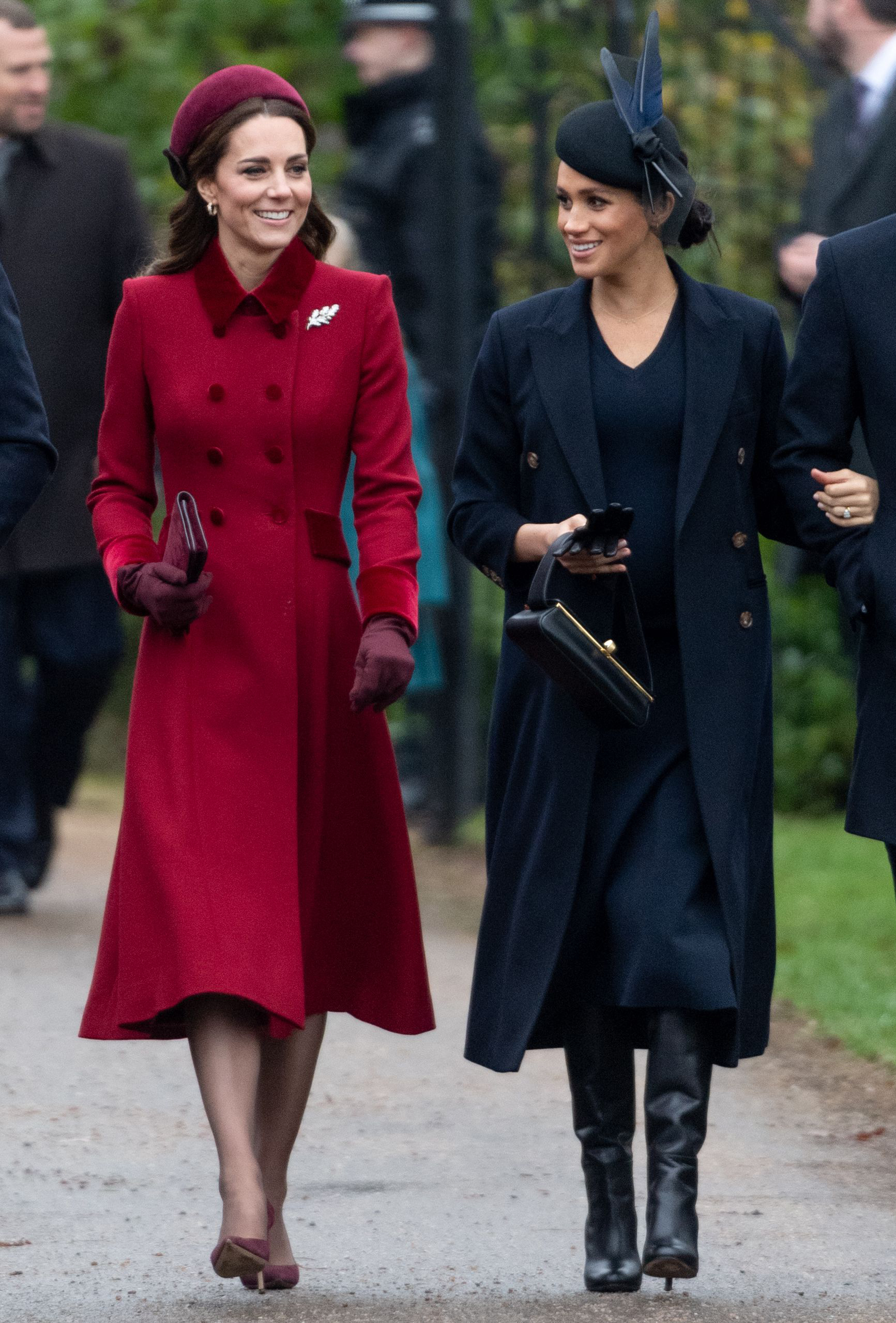 meghan markle and kate middleton will be civil for remembrance day in touch weekly