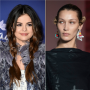selena gomez left a comment on bella hadid's instagram photo, which was later deleted by the model