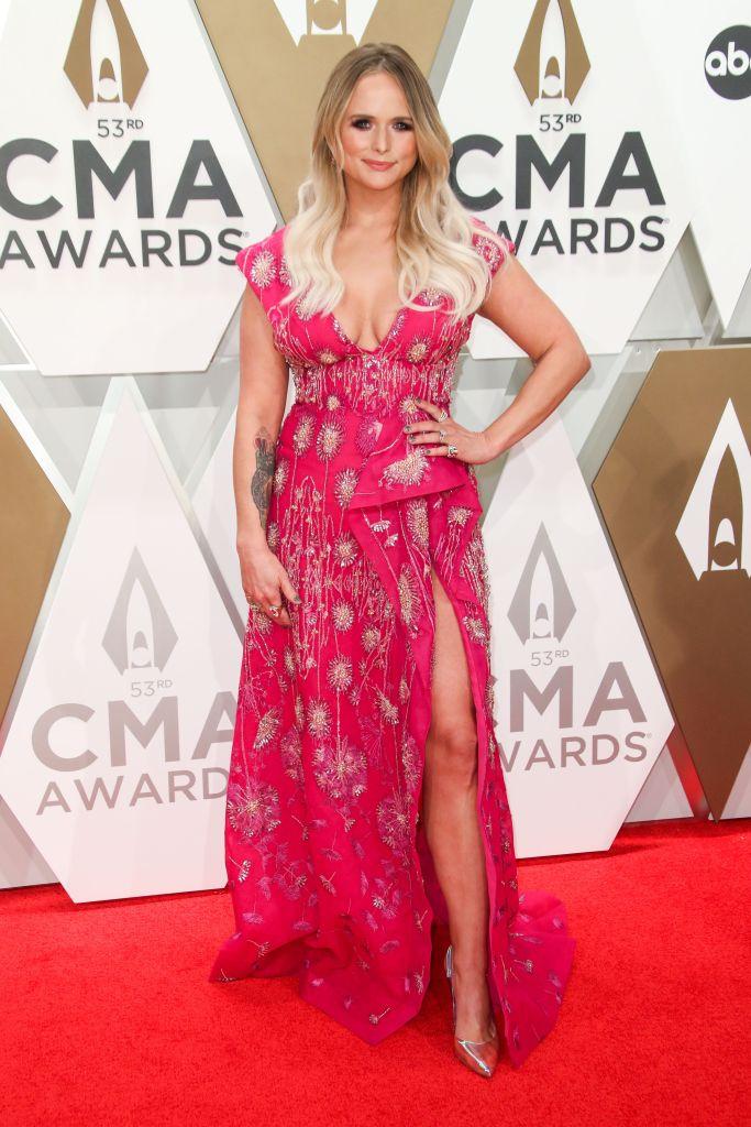 Miranda Lambert Hot Pink Dress 2019 CMAs