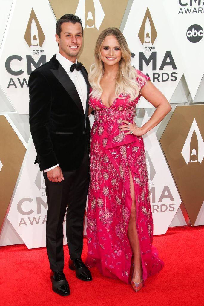 Miranda Lambert and Brendan Mcloughlin 53rd Annual CMA Awards 2019 pic 2