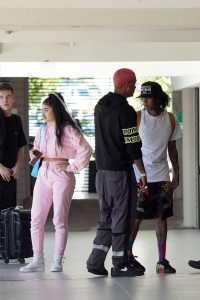 Tyga and New GF Ana Beatriz Boaretto Leave St. Barts Trip With Amber Rose and Alexander 'AE' Edwards