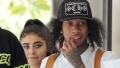 Tyga and GF Ana Leave St Barts With Amber Rose and AE Edwards