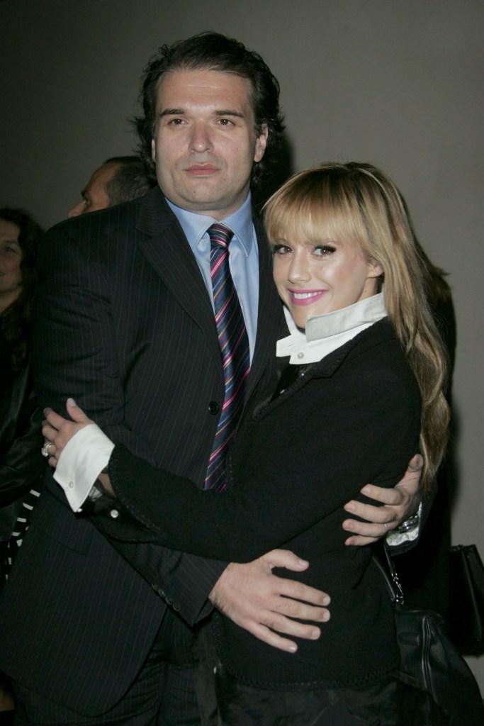 Brittany Murphy Hugging Simon Monjack