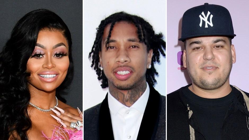 Blac Chyna Reveals She's 'Grateful' for Exes Tyga and Rob Kardashian
