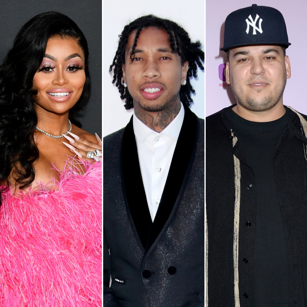 Blac Chyna Reveals She's 'Grateful' for Exes Tyga and Rob Kardashian