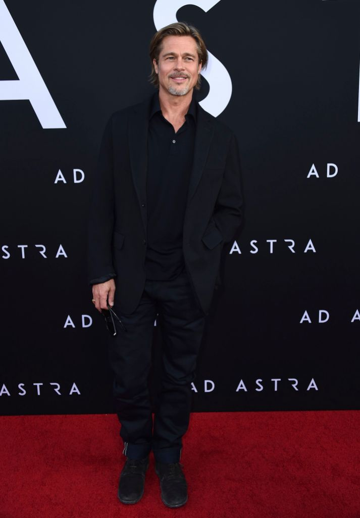 Brad Pitt Wearing a Suit