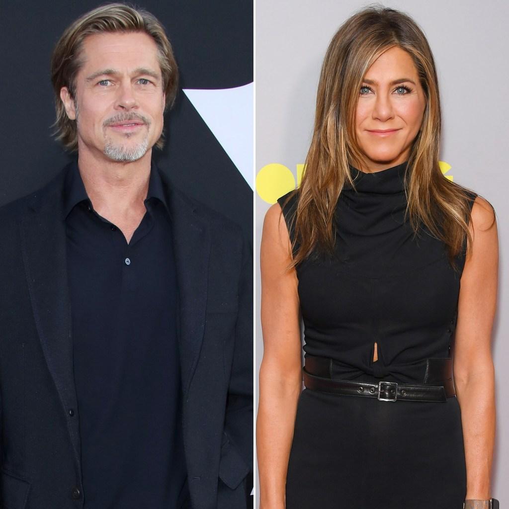 Brad Pitt and Jennifer Aniston Golden Globes 2020 Nomination